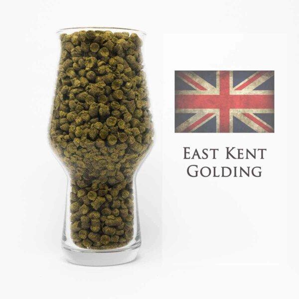 East Kent Goldings Hopfen