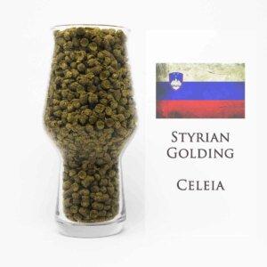 Styrian Goldings Hopfen