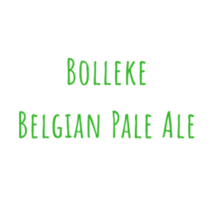 Bierrezept Bolleke Belgian Pale Ale
