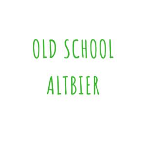 Bierrezept Old School Altbier