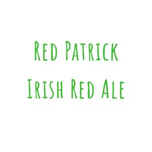 Bierrezept Red Patrick Irish Red Ale