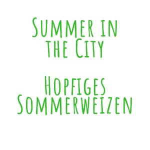 Bierrezept Summer in the City Sommerweizen