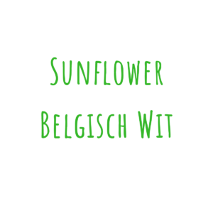 Bierrezept Sunflower Belgisch Wit