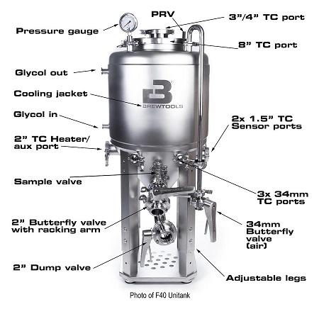 Brewtools Unitank F40