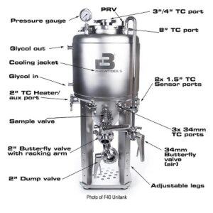 Brewtools Unitank F80