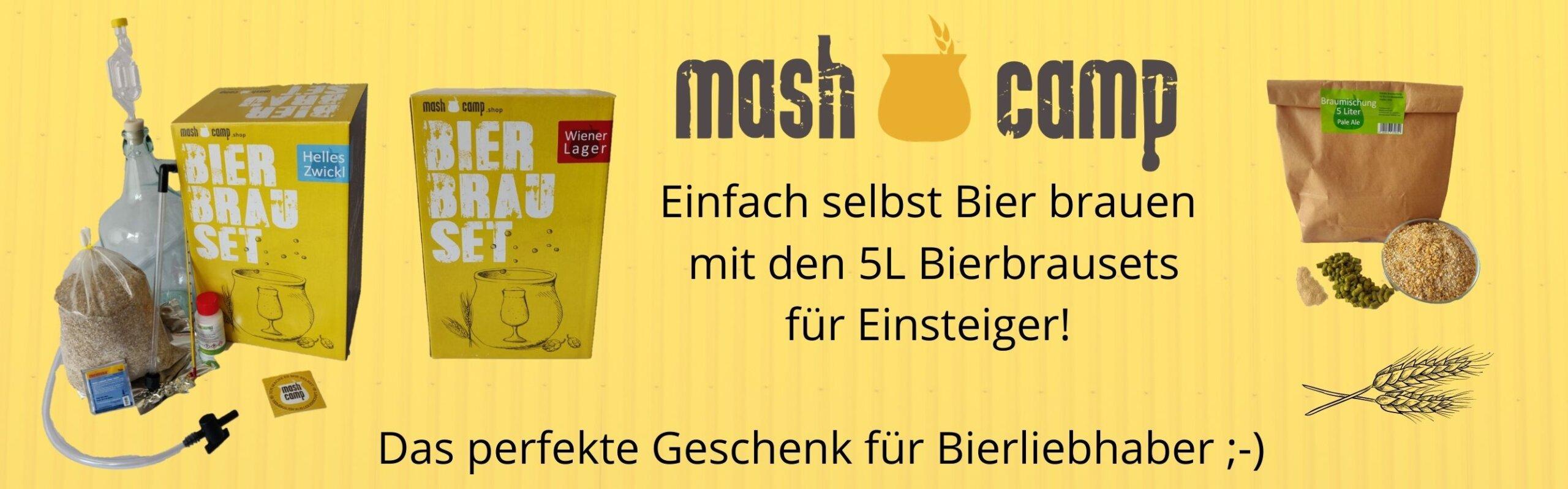 MashCamp Bierbrauset